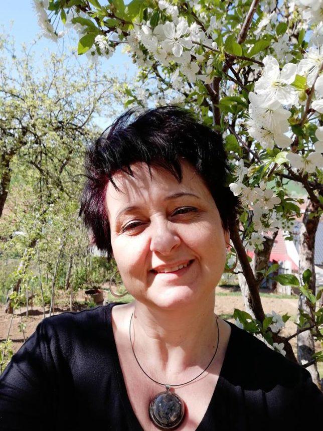 jaro, foto, úsměv, já