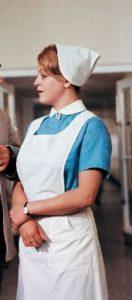 uniforma|retro|zdravotní|sestra