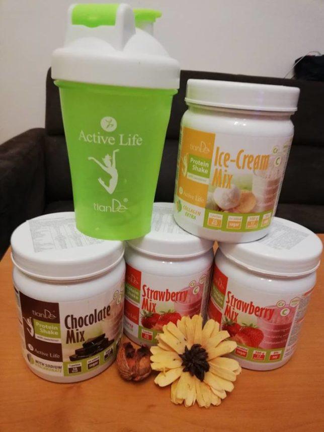 Proteinové mixy